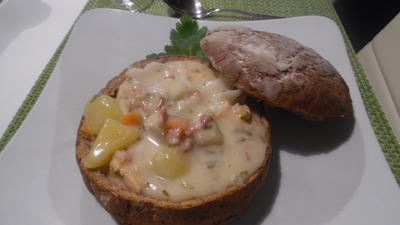 Seafood Chowder - Rezept - Bild Nr. 4860