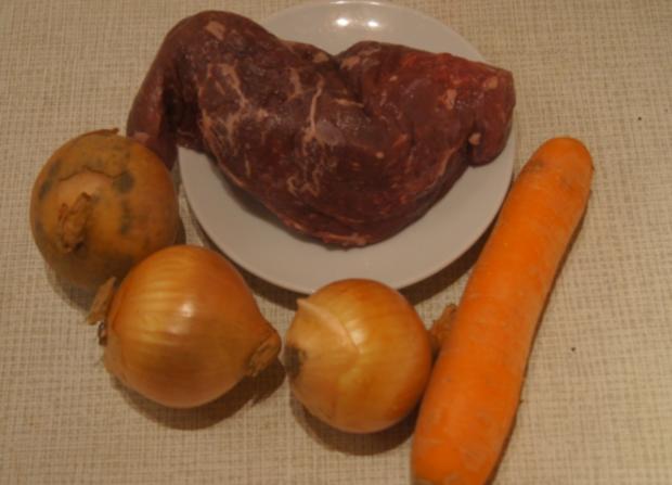 Rindfleisch mit Zwiebeln und Würzreis - Rezept - Bild Nr. 4894