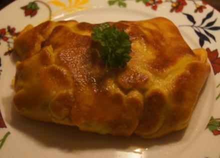 Gefüllter Pfannkuchen mit Brokkoli - Rezept - Bild Nr. 4902
