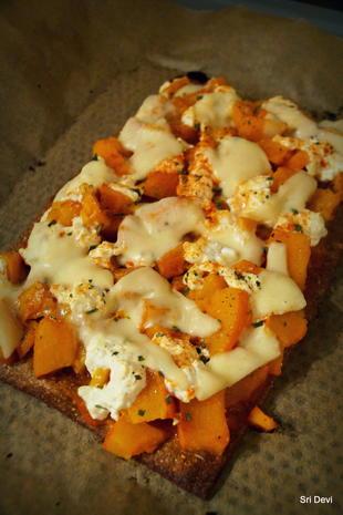 Gesunde Leinsamen-Lizza-Pizza - Rezept - Bild Nr. 2