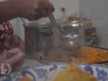 Gemüsesuppe und orientalisches Salat-Potpourri - Rezept - Bild Nr. 2