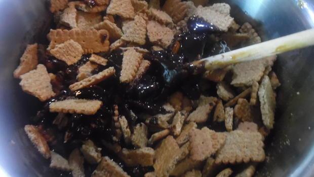 "Groom's Cake - ""Bräutigamskuchen"" aus GB - Rezept - Bild Nr. 4934"