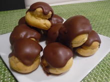 Profiteroles mit Crème patissière - Rezept - Bild Nr. 4931