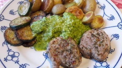 Schweinefilet mit Ofenkartoffeln - Rezept - Bild Nr. 4929