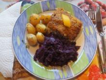 Schlemmer Filet mit Rotkohl und Rosmarin-Drillingen - Rezept - Bild Nr. 2