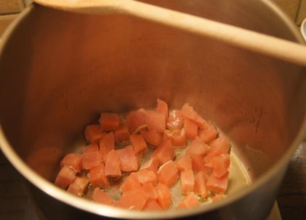 Schlanksuppe mit Putenfleisch asiatisch gewürzt - Rezept - Bild Nr. 4936