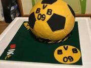 FONDANT:  ein BVB ~ FAN feiert Geburtstag - Rezept - Bild Nr. 4931