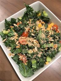 Kalesalat mit Sprossen und Papaya - Rezept - Bild Nr. 4931