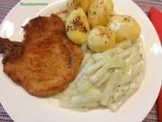 Gemüse:   helle KOHLRABI in Sahnesauce - Rezept - Bild Nr. 4933