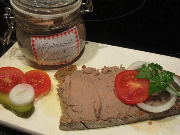 Geflügelleberwurst - Rezept - Bild Nr. 4938