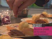 Mousse au Chocolat mit Karamelleis und pfeffrigem Birnenkompott - Rezept - Bild Nr. 2
