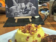 Kartoffelpüree mit Apfel-Speck-Topping - Rezept - Bild Nr. 2