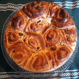 Rezept: Rosenkuchen