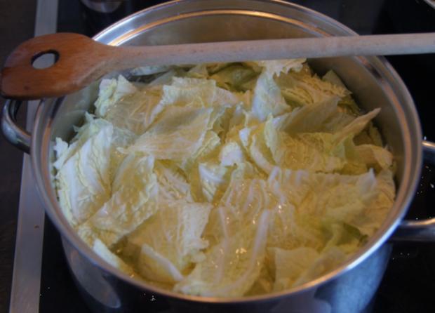 Kotelett mit Wirsing und Drillingen - Rezept - Bild Nr. 4946