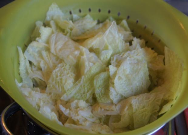 Kotelett mit Wirsing und Drillingen - Rezept - Bild Nr. 4947