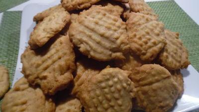 Rezept: Erdnuss-Butter-Cookies