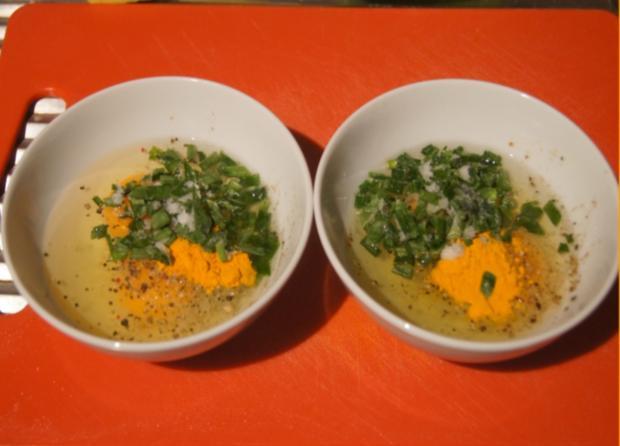 Omelett mit Champignons und Schinken - Rezept - Bild Nr. 4942