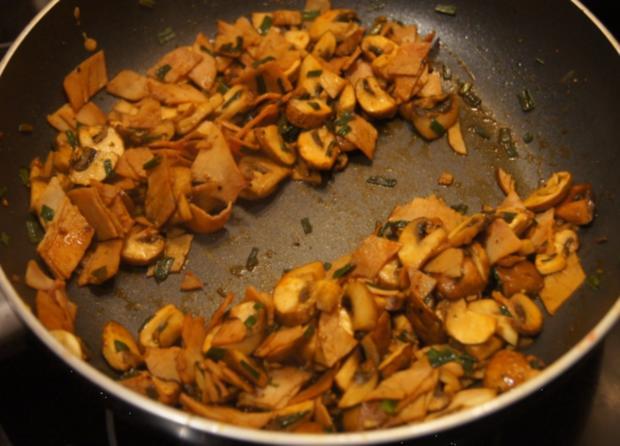 Omelett mit Champignons und Schinken - Rezept - Bild Nr. 4949