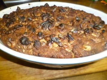 Flaches Ofenbrot mit Sonnenblumenkernen und Walnüssen - Rezept - Bild Nr. 4940