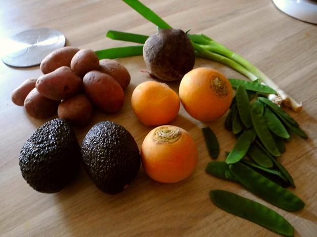 Gelbe Rübchen,Rote Beete,Kartoffeln - Rezept - Bild Nr. 4943