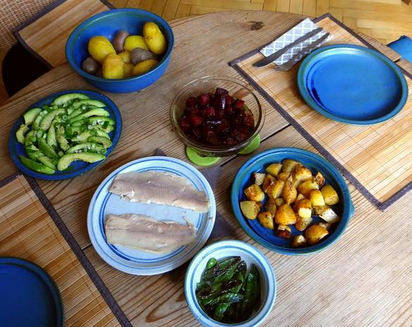 Gelbe Rübchen,Rote Beete,Kartoffeln - Rezept - Bild Nr. 4946