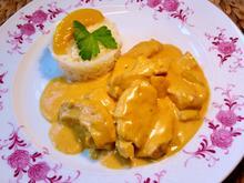 Puten-Curry mit Pfirsichen - Rezept - Bild Nr. 4943