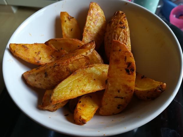 Kartoffelspalten - Rezept - Bild Nr. 4953