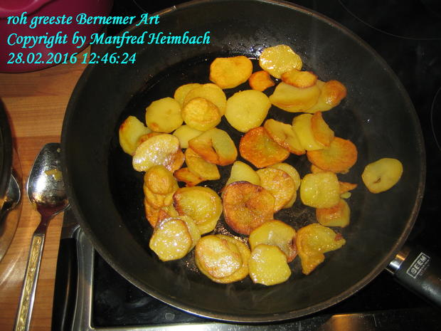 Kartoffeln – roh greeste Bernemer Art - Rezept - Bild Nr. 4953