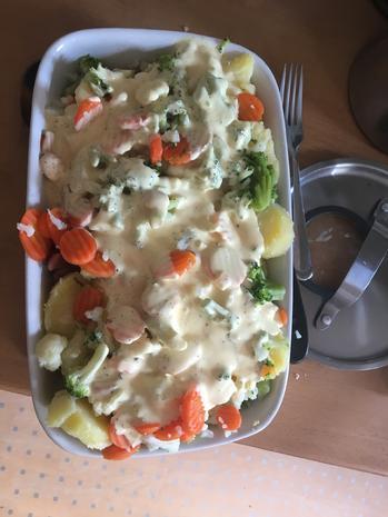 Kartoffel-Gemüse-Auflauf Hollandaise - Rezept - Bild Nr. 4954