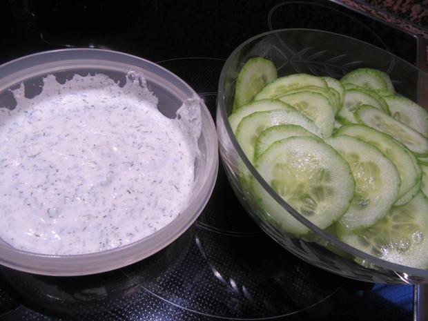 Salate: Salat-Quartett zum Schweizer Käse-Fondue - Rezept - Bild Nr. 4962