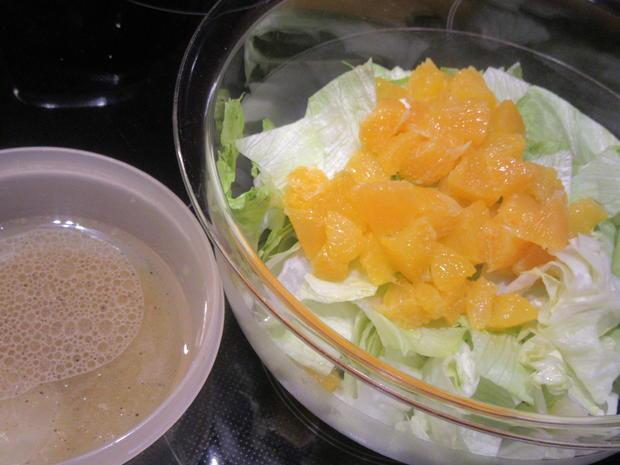 Salate: Salat-Quartett zum Schweizer Käse-Fondue - Rezept - Bild Nr. 4963