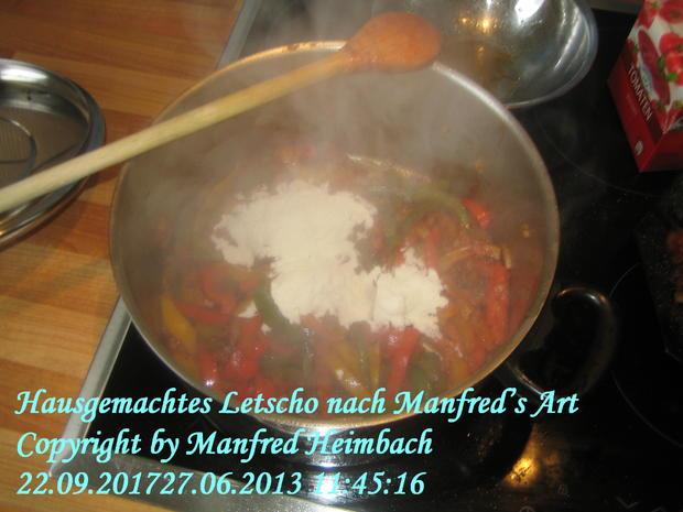 Gemüse – Hausgemachtes Letscho nach Manfred's Art - Rezept - Bild Nr. 4961