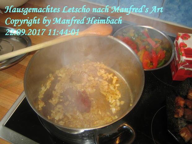 Gemüse – Hausgemachtes Letscho nach Manfred's Art - Rezept - Bild Nr. 4962