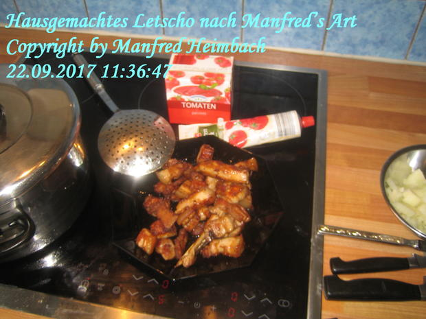Gemüse – Hausgemachtes Letscho nach Manfred's Art - Rezept - Bild Nr. 4964