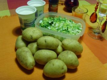 Porree-Kartoffeltopf.... - Rezept
