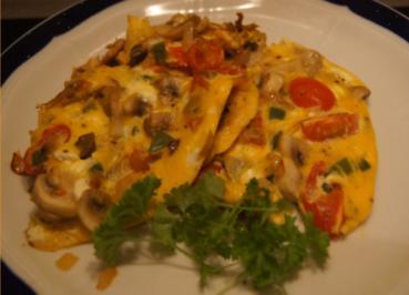 Omelett mit herzhaften Gemüse - Rezept - Bild Nr. 4966