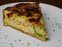 Gemüse-Quiche oder Gemüse-Quarkkuchen - Rezept - Bild Nr. 4971