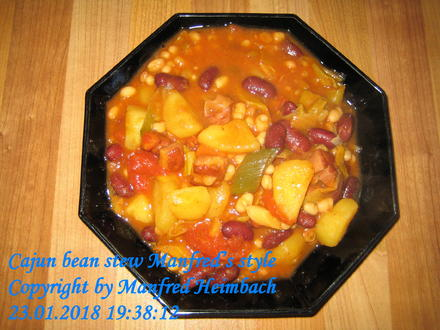 Eintopf – Cajun bean stew Manfred's style - Rezept - Bild Nr. 4966