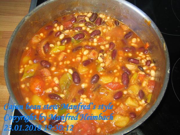 Eintopf – Cajun bean stew Manfred's style - Rezept - Bild Nr. 4967