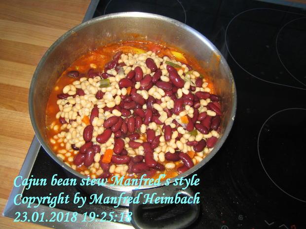 Eintopf – Cajun bean stew Manfred's style - Rezept - Bild Nr. 4968