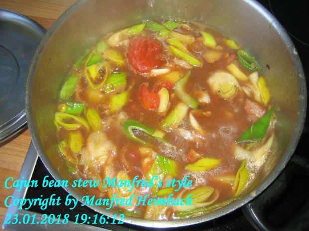 Eintopf – Cajun bean stew Manfred's style - Rezept - Bild Nr. 4969