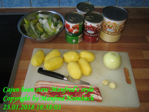 Eintopf – Cajun bean stew Manfred's style - Rezept - Bild Nr. 4972