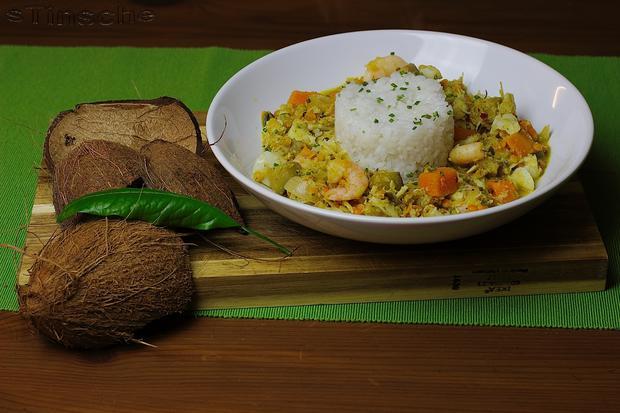 Kabeljau-Kokos-Curry - Rezept - Bild Nr. 2