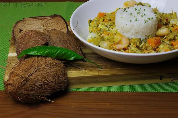 Kabeljau-Kokos-Curry - Rezept - Bild Nr. 3