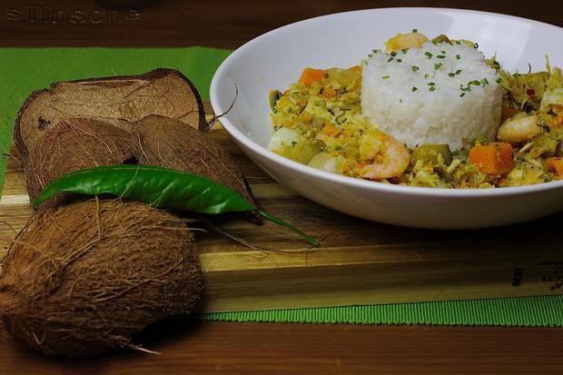 Kabeljau-Kokos-Curry - Rezept - Bild Nr. 4987