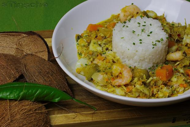 Kabeljau-Kokos-Curry - Rezept - Bild Nr. 4988