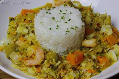 Rezept: Kabeljau-Kokos-Curry