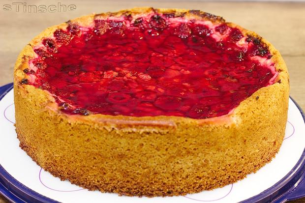 Himbeer Schmand Kuchen Rezept Mit Bild Kochbar De