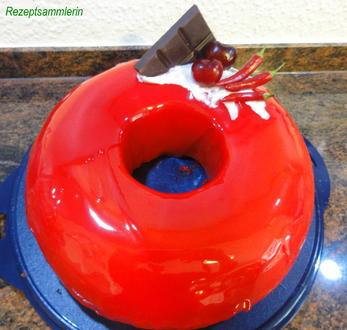 """Rührteig:   """" MIRROR ~ GLAZE  ~ CAKE """" (Spiegel-Glas-Kuchen) - Rezept - Bild Nr. 4981"""