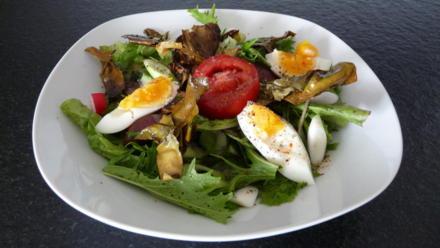 Bunter Salat mit knuspriger Dulse - Rezept - Bild Nr. 4991